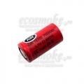 Литиевый аккумулятор IMR18350  700мАч AW 4.2А noPCB